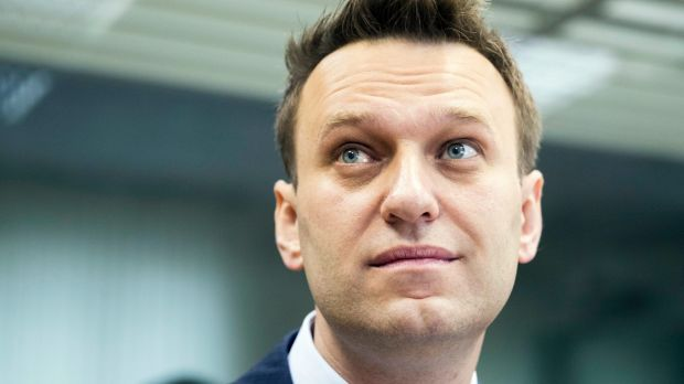 Russian opposition leader Alexei Navalny detained as ...