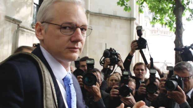 Julian Assange in Risk: Sympathetic or not, he is a fascinatingly weird screen presence.