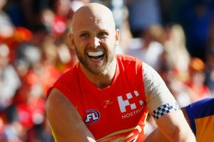 Gary Ablett pulled out of what was to be his 300th game with a calf injury.