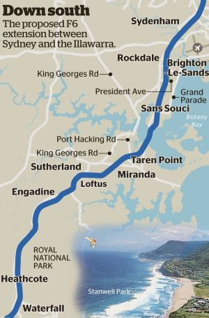 The F6 extension could spell bad news for the national park, or hundreds of homes.