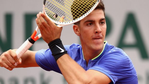 Thanasi Kokkinakis made a comeback at the French Open last month.