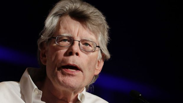 Author Stephen King says been blocked from President Donald Trump's Twitter account.