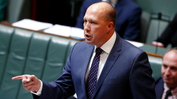 Immigration Minister Peter Dutton is understood to be under consideration to lead a British-style Home Office.