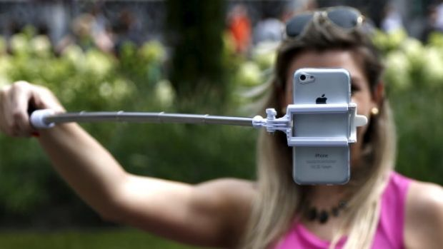 Selfie stick: One of the new words in the Australian Concise Oxford Dictionary.