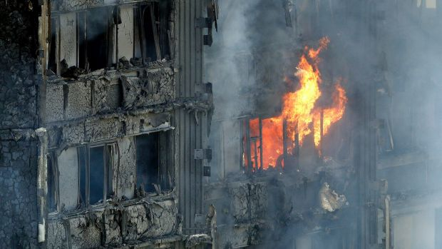 London Fire At Least Six Dead In Grenfell Tower Blaze