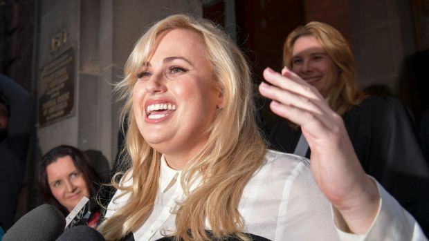 Rebel Wilson announces court win will go to charity