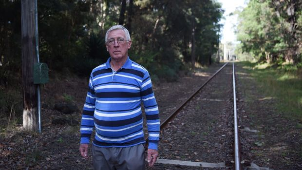 Sydney Tram Museum director Greg Sutherland is worried an extension of the F6 will threaten its historic railway.