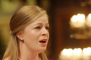 Soprano Siobhan Stagg was well-suited to the roles of both Gabriel and Eve.