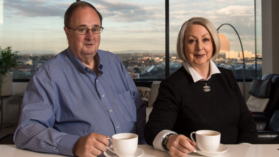 Jeff and Judi Parry have downsized to a smaller apartment in a retirement village in Carlton. Photo: PENNY STEPHENS. The ...