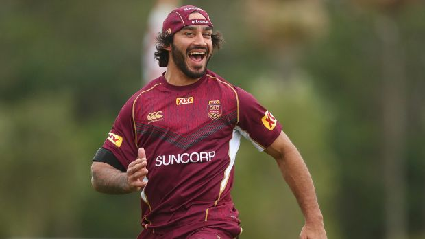 Johnathan Thurston will play  Origin game two after copping a bump at training.