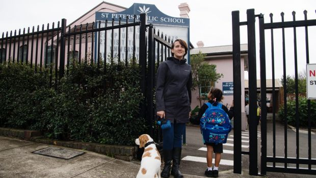"Sarina Kilham says she keeps her five-year-old daughter home from school on ""strong odour days""."