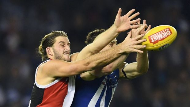 What a turn off: The Saints and Roos flattered to deceive on Friday night.
