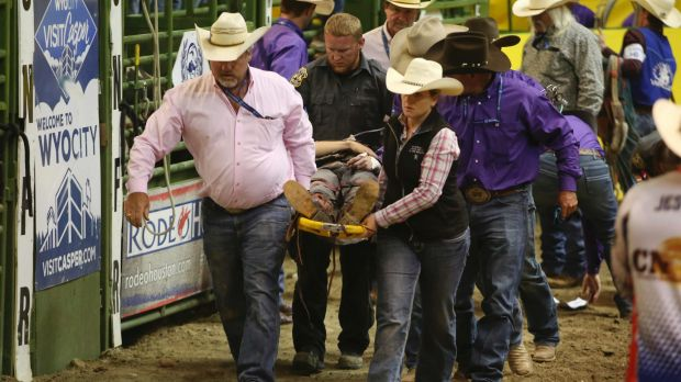 Injured Australian bull rider improving