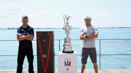 The oldest trophy in sport: Peter Burling will skipper Team New Zealand against Spithill's Team USA.