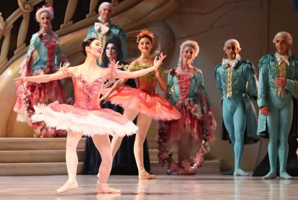 Ako Kondo performs as Princess Aurora during a dress rehearsal of David McAllister's production of The Sleeping Beauty.