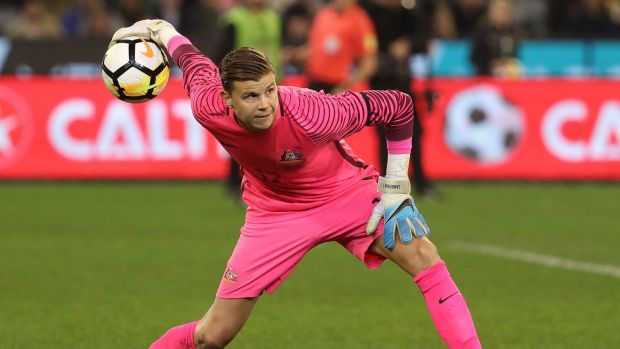 Mitchell Langerak is part of a strong Socceroos goalkeeping contingent.