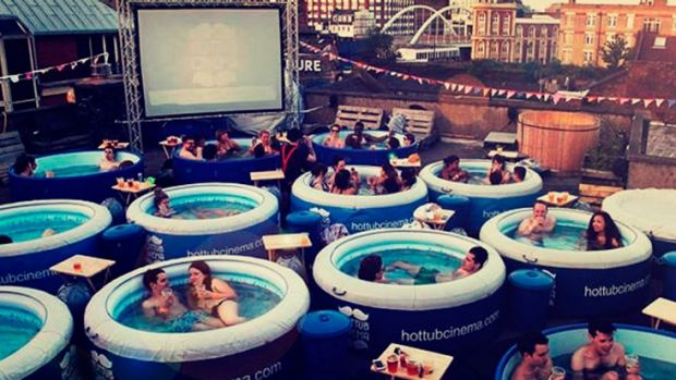 Hot Tub Cinema is coming to Perth.