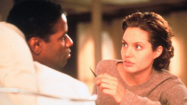 Denzel Washington and Angelina Jolie in the movie The Bone Collector helped raise Lincoln Rhyme's profile.