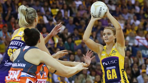 Goal attack Steph Wood gained confidence as the grand final progressed, and would have been in the MVP conversation.