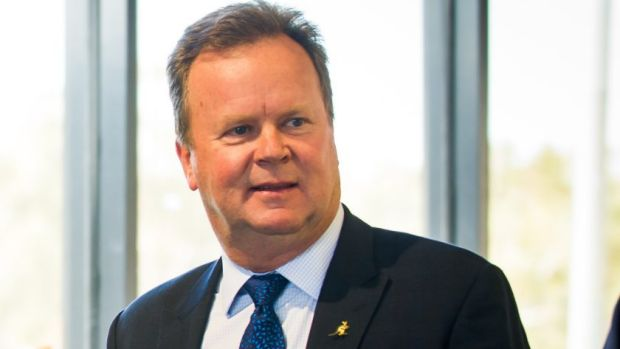 Ready to go: ARU Chief Executive Bill Pulver is prepared to resign immediately at an upcoming emergency general meeting ...