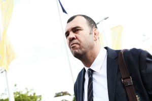 Ambition: Wallabies head coach Michael Cheika is backing his players to beat the All Blacks.