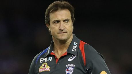 Disappointed: Bulldogs coach Luke Beveridge says rumours are being spread by those aiming to break the club's resolve.