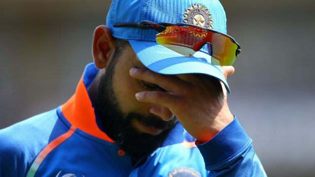It's all too much for Virat Kohli.