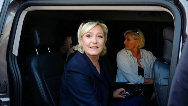 French far-right presidential candidate Marine Le Pen.