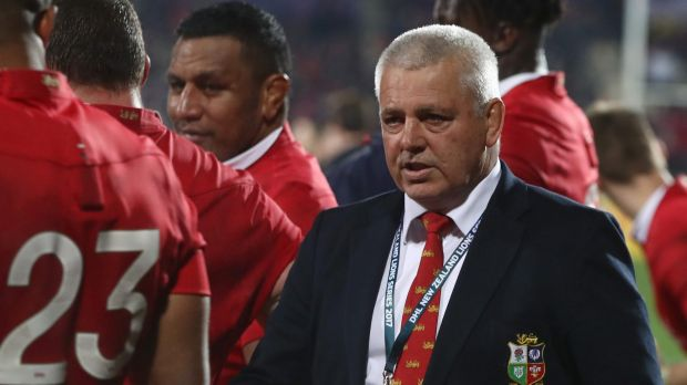 Black magic: British and Irish Lions coach Warren Gatland has accused the All Blacks of underhanded tactics, using ...
