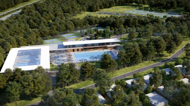 New pool and sports facilities are proposed for Pimpama on northern edge of Gold Coast.