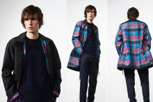 Paul Smith's cycling-inspired collection features a reversible jacket.