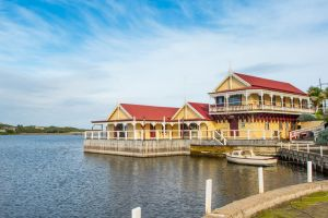 Proudfoot's boathouse in Warrnambool