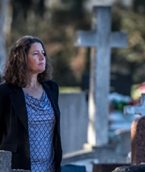 Woden Valley Comm. Council president Fiona Carrick is worried about Woden Valley Cemetery's plan to expand the cemetery ...