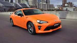 2017 Toyota 86 Limited Edition.