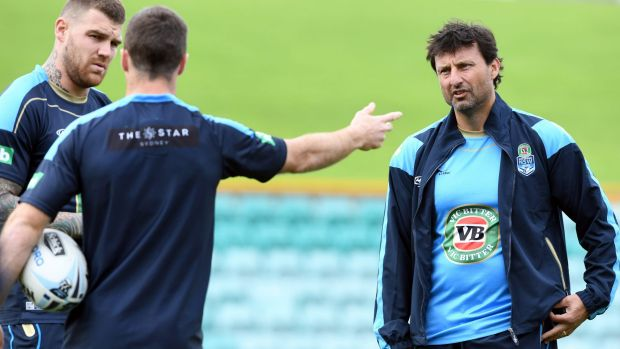 Fresh approach: Blues coach Laurie Daley.