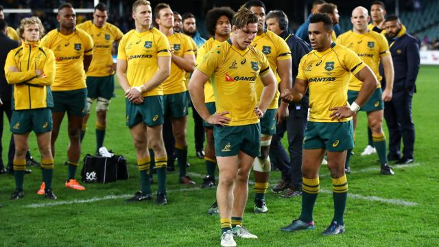 Trouble makers: Australia's discipline has been a key reason for their spotty form.