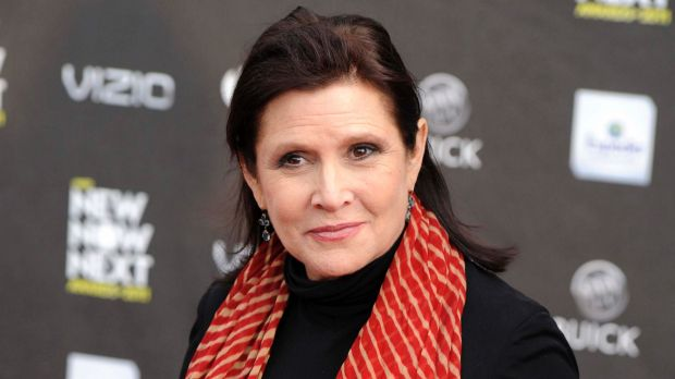 Carrie Fisher features in newly released behind-the-scenes footage from The Last Jedi.