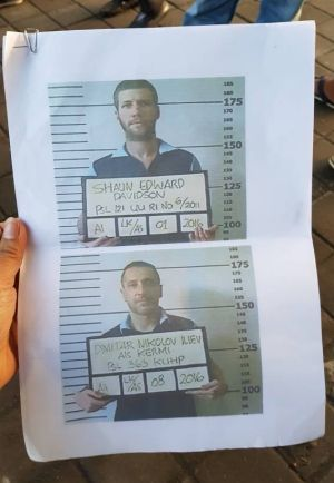 Bulgarian Dimitar Nikolov Iliev is one of the two escaped convicts who has been arrested, Indonesian police say.