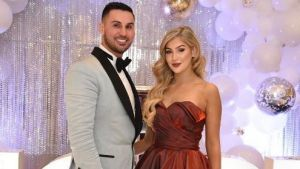 Salim Mehajer and his sister Mary Mehajer at the Sparkle of Hope Ball, Fairfield, on April 9.