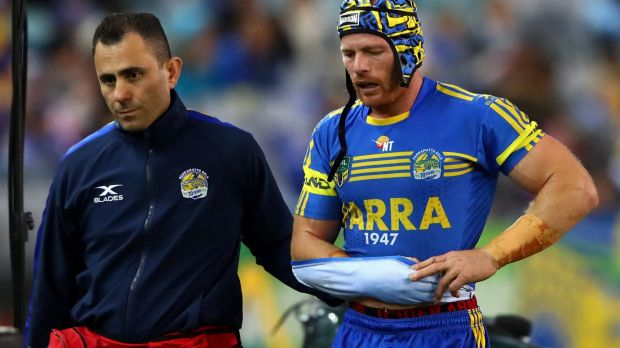 Parramatta's Beau Scott out for NRL season