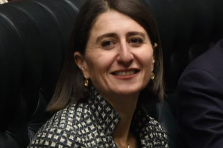 """Gladys Berejiklian has said she is """"comfortable"""" with the current lockout laws."""