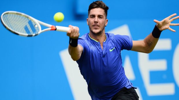 Thanasi Kokkinakis' comeback from injury gathered steam with his victory over Milos Raonic.