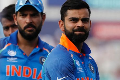 Reservations: India's captain Virat Kohli.