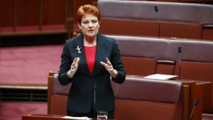 One Nation leader Pauline Hanson is under fire for suggesting in Parliament that autistic children should not be in ...