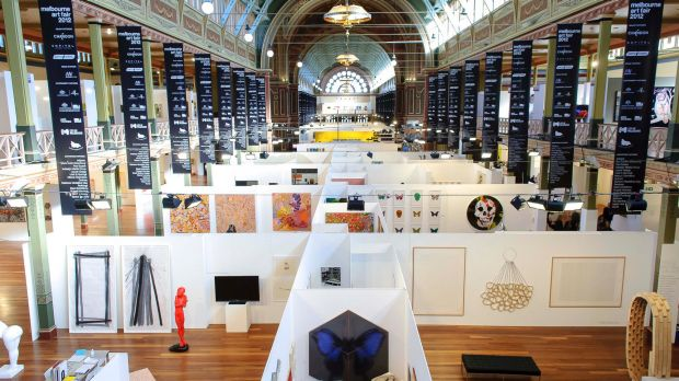 The Melbourne Art Fair was a biennial event held at the Royal Exhibition Buildings from 1988.