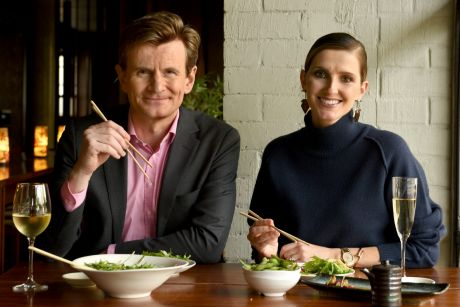 Charles Edwards tells Kate Waterhouse it's fun to play a character that causes outrage and makes the audience gasp.