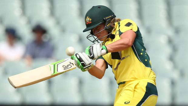 Competitive: Alyssa Healy says she enjoys the pressure to keep her position.