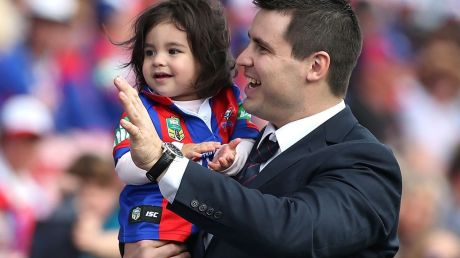 James McManus has resigned from his role as a corporate sales executive at the Knights.