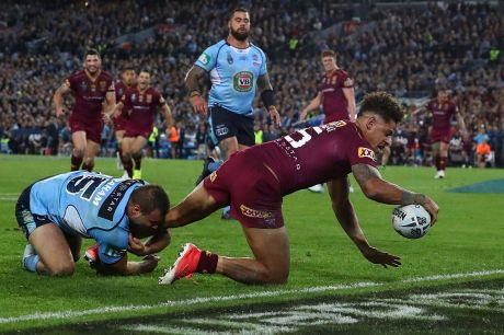 Game-winner: Dane Gagai was superb for Queensland.