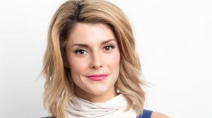 Online star Grace Helbig is collaborating with authors of fan fiction.